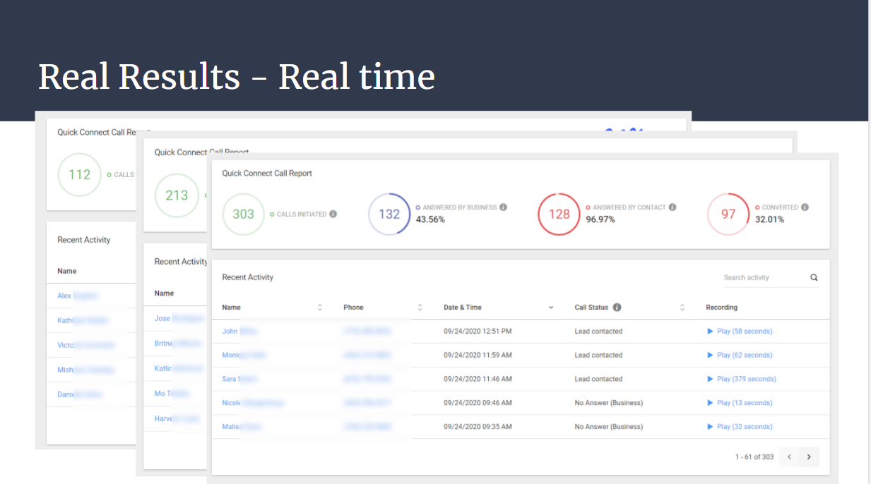 Read Results - Real Time