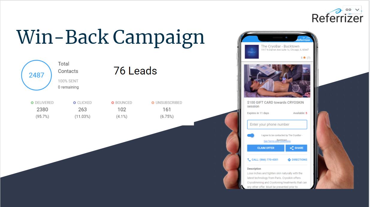 Win-Back Campaign